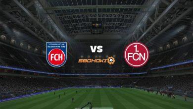 Photo of Live Streaming  1. FC Heidenheim vs FC Nurnberg 2 Januari 2021
