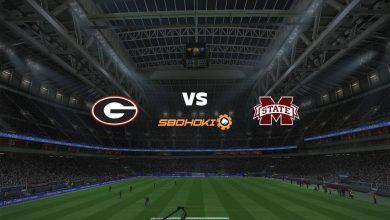 Photo of Live Streaming  Georgia Bulldogs vs Mississippi State Bulldogs 23 September 2021